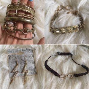 Daytrip by Buckle Jewelry Bracelet Earring bundle